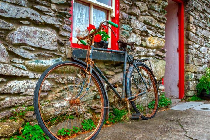 Old Bike Ireland Village